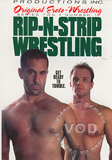 RIP N STRIP WRESTLING DVD - Gay