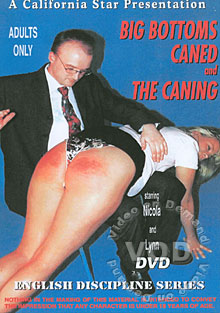 Big Bottoms Caned And The Caning