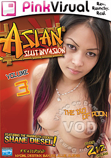 Asian Slut Invasion Volume 3