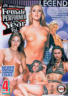Female Performer Of The Year Vol. 1
