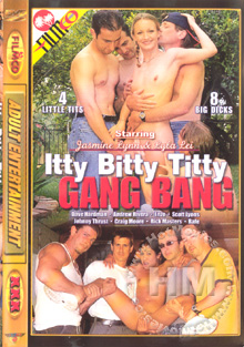 Itty Bitty Titty Gang Bang