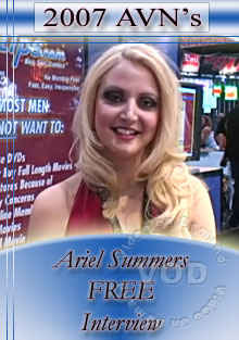 2007 AVN Interview - Ariel Summers