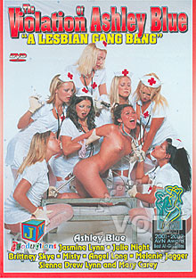 The Violation Of Ashley Blue - A Lesbian Gang Bang
