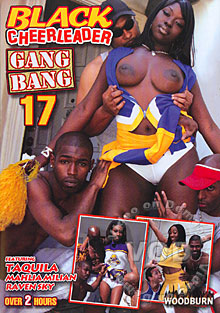 Black Cheerleader Gang Bang 17